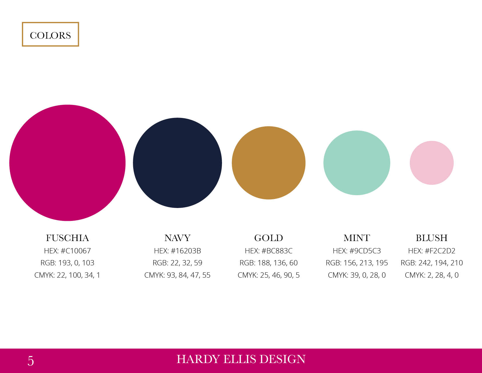 Hardy Ellis Design Style Guide5