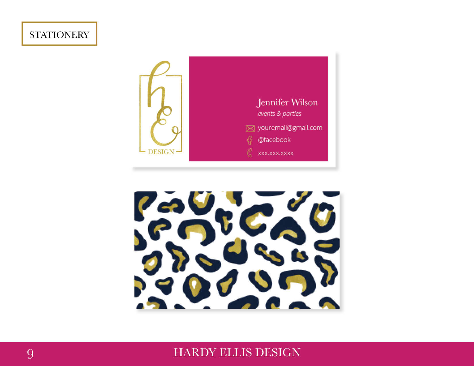 Hardy Ellis Design Style Guide9